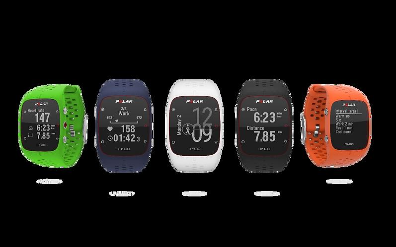 Polar M430 GPS running watch  - Futó óra
