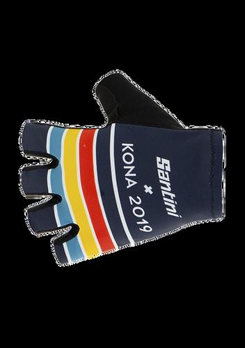 Santini Ironman KONA 2019 - GLOVES - Kerékpáros kesztyű