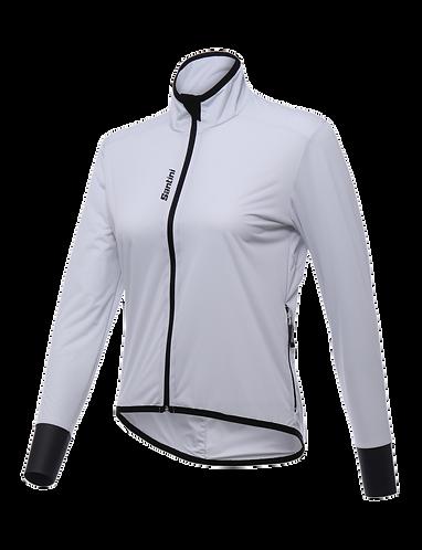 Santini Scudo Wind Jacket Women White - Női Kerékpáros Szélálló Kabát
