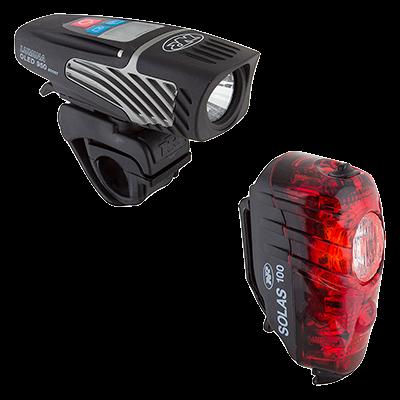 NiteRider Lumina 950 OLED / Solas 100 - Lámpa készlet
