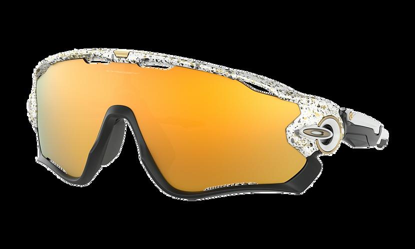 OAKLEY Jawbreaker Splatter White / 24k Iridium lens - Sportszemüveg