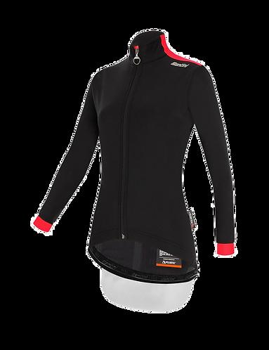Santini Vega Multi Winter Jacket Black for women - Kerékpáros Női Téli kabát