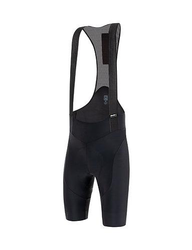 Santini TONO PURO - Kerékpáros kantáros nadrág fekete