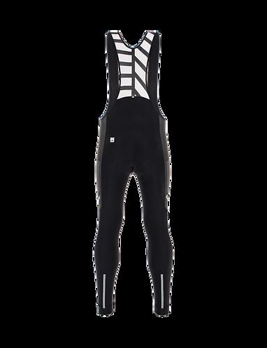 Santini SVOLTA - BIB TIGHTS BLACK - Kerékpáros kantáros téli nadrág.