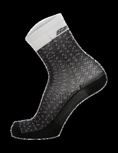 SANTINI SLEEK 99 SOCK BLACK - Kerékpáros zokni