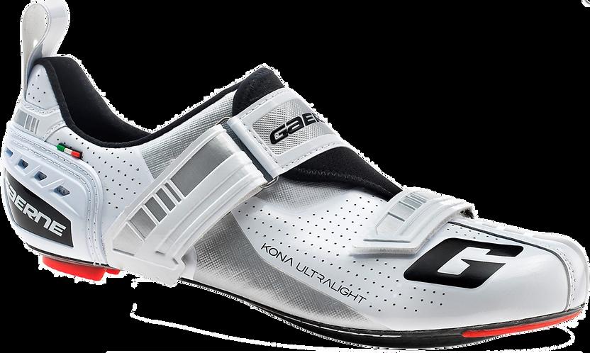 Gaerne G.KONA Triathlon Road Shoe - White - Triatlon cipő