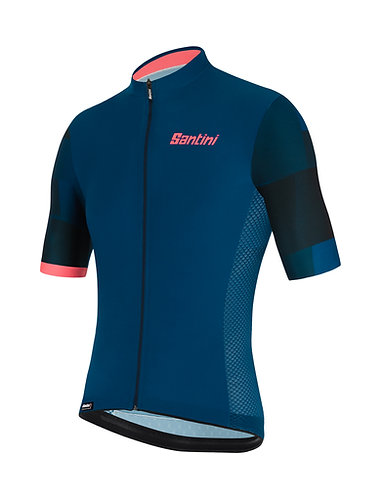 Santini MITO SPILLO - Kerékpáros mez kék