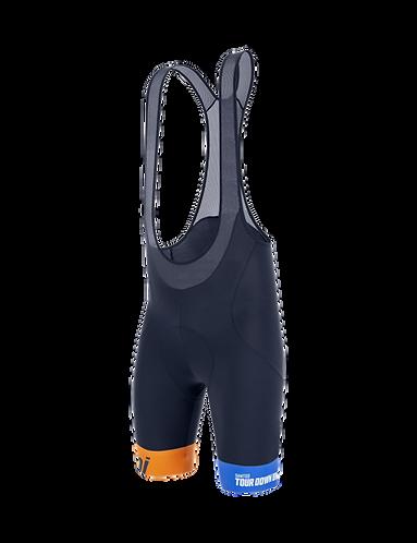 Santini TDU 2020 - BIB SHORTS - Kerékpáros nadrág