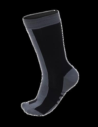 Santini CLASSE - SOCKS MEDIUM PROFILE BLACK - Kerékpáros közép profilú zokni