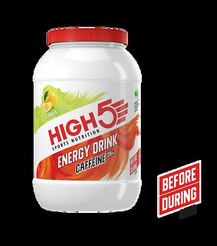 High5 2:1 Energy Drink Caffeine Citrom 2,2Kg (~50 adag)