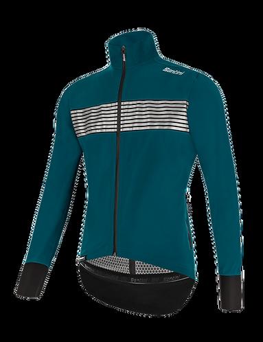 Santini GUARD MERCURIO - JACKET PETROLEUM - Kerékpáros kabát.