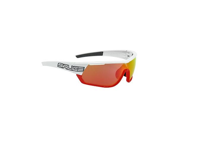 Salice 016 RWX Fehér-Narancs kerékpáros napszemüveg