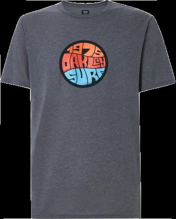 OAKLEY GRAFFITI 1975 T-Shirt 2020 athletic grey - Póló