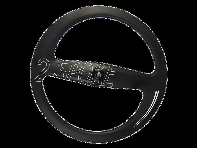 2-Spokes M5 Clincher Front Disc wheel / Első kerék - Tárcsafékes