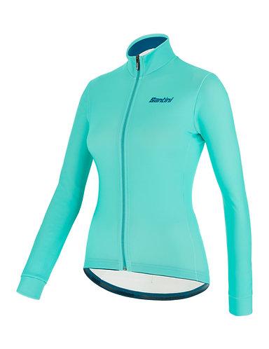Santini colore jersey Women - Női Kerékpáros felső water