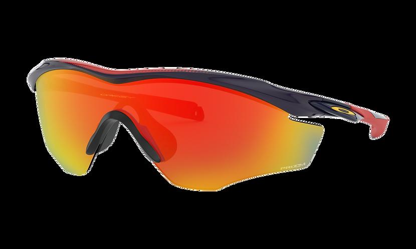 OAKLEY M2 Frame XL Snapback Navy / PRIZM Ruby lens - Sportszemüveg