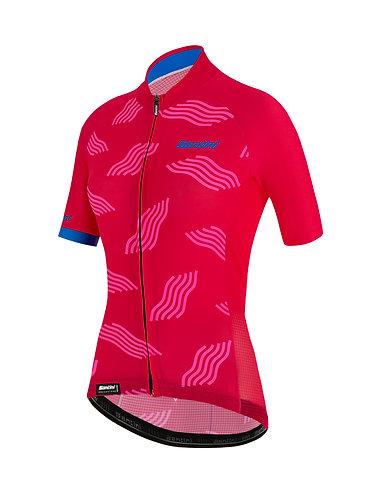 Santini TONO DUNE - Női kerékpáros mez pink