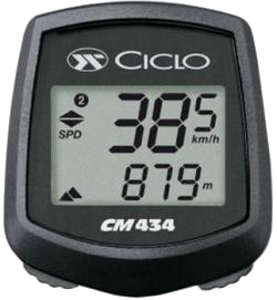 Ciclosport CM 434 wireless cyclometer computers - Kerékpáros óra