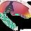Thumbnail: OAKLEY Radar EV XS Matte Pink / PRIZM Road lens - Sportszemüveg