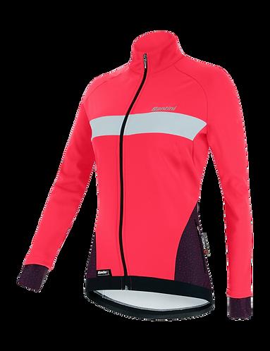 Santini CORAL - JACKET GRANATINA for women - Kerékpáros Női Téli kabát