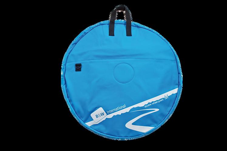 B&W Double Wheel Guard M Blue - Kerék szállító táska Dupla