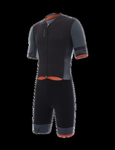 Santini REDUX - S/S TRISUIT BLACK - Tri ruha