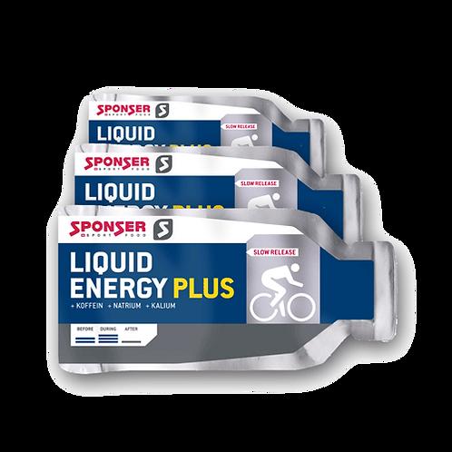 Sponser Liquid Energy plus 40gr - Nagy koncentrátumú folyékony energiafo
