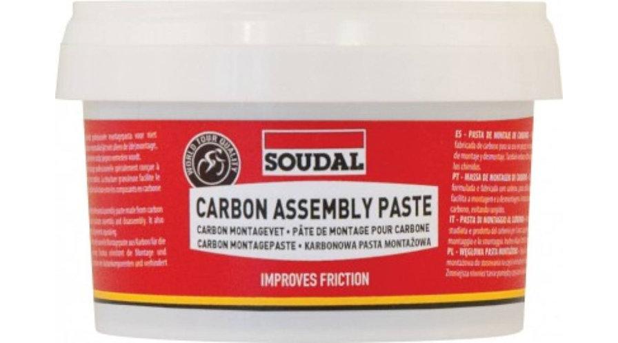 SOUDAL Szénszálas szerelőpaszta, kenőzsír karbonszálas anyagokhoz 200ml