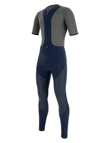 Santini - GRIDO - Kerékpáros téli nadrág aláöltözővelKék