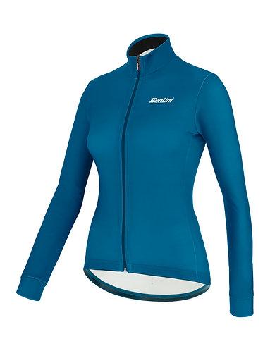 Santini colore jersey Women - Női Kerékpáros felső petróleumzöld