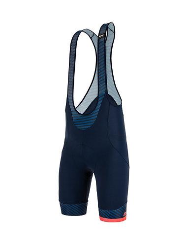 Santini KARMA MILLE - Kerékpáros kantáros nadrág kék