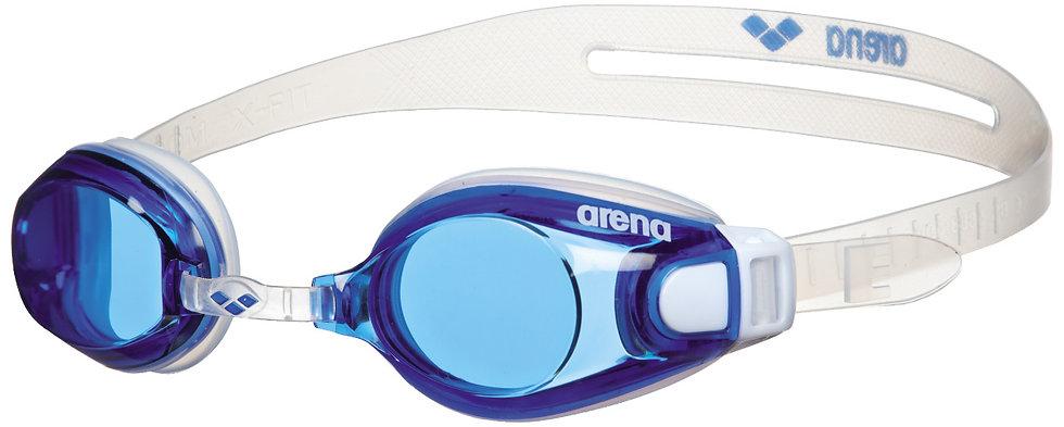 Arena zoom x-fit KÉK / ÁTLÁTSZÓ / ÁTLÁTSZÓ úszószemüveg