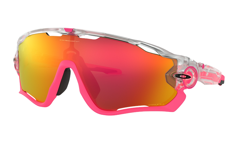 OAKLEY Jawbreaker Crystal Pop / PRIZM Ruby lens - Sportszemüveg