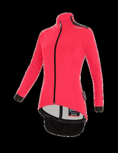 Santini Vega Multi Winter Jacket Granatina for women - Kerékpáros Női Téli kabát