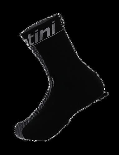 Santini Pixel Shoe Covers Black - Kerékpáros kamásli