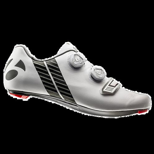 Bontrager XXX shoes white - országuti cipő