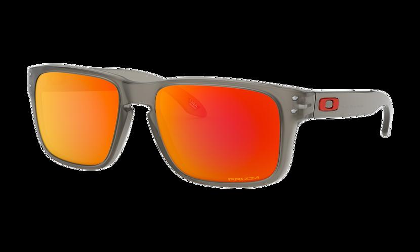 OAKLEY Holbrook XS Matte Grey Ink / PRIZM Ruby - sportszemüveg