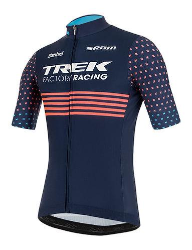 Santini TREK FACTORY RACING CX 2021 - FAN LINE JERSEY - Kerékpáros mez