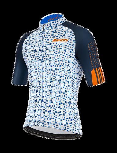 Santini TDU 2020 - JERSEY NAVY - Kerékpáros mez