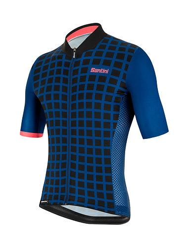 Santini MITO GRIDO - Kerékpáros mez kék