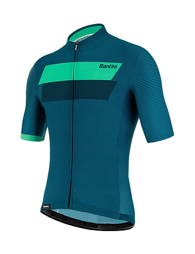 Santini TONO STUDIO - Kerékpáros mez zöld