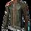 Thumbnail: Santini Fine Windbreaker Jacket Green - Szélálló kerékpáros kabát