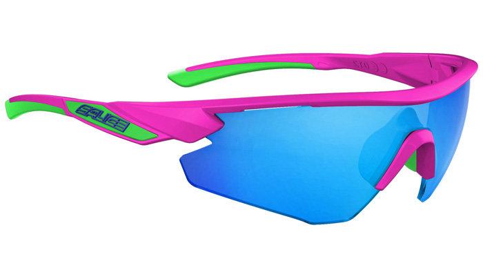 SALICE 012 RW Pink-Zöld Napszemüveg