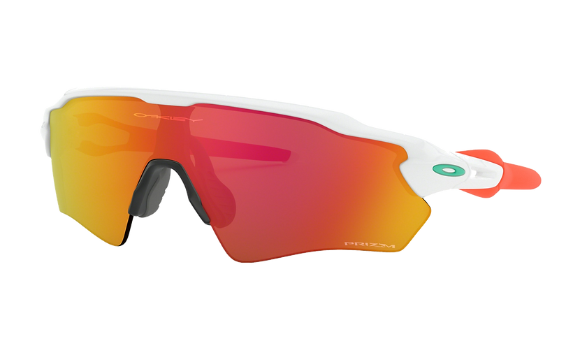 OAKLEY Radar EV XS Path Polished White / PRIZM Ruby lens - Sportszemüveg