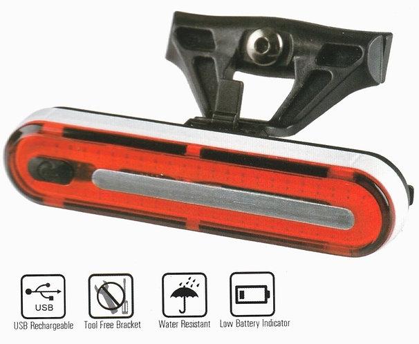 Velotech  50 chilledes USB hátsó lámpa