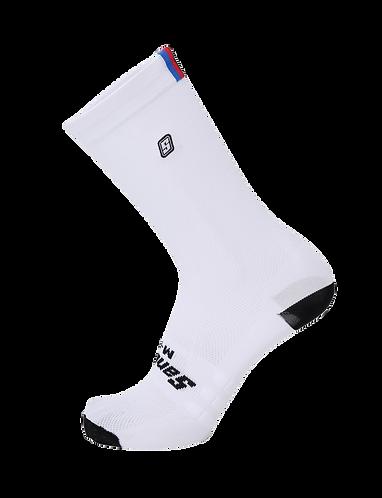 UCI Cycling Socks white - UCI Kerékpár zokni fehér