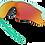 Thumbnail: OAKLEY Radar EV Path Arctic Surf / PRIZM Ruby - sportszemüveg