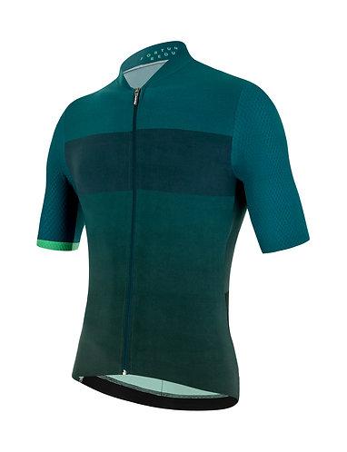 Santini REDUX FORTUNA - Kerékpáros mez zöld