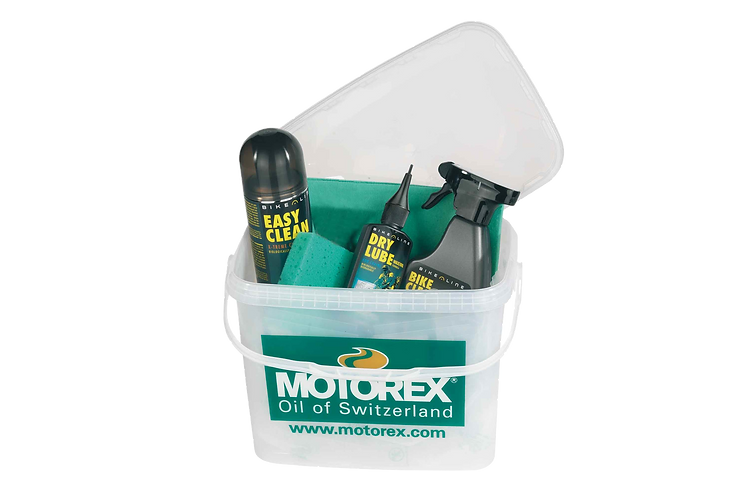 Motorex BIKE CLEANING kit vödörben