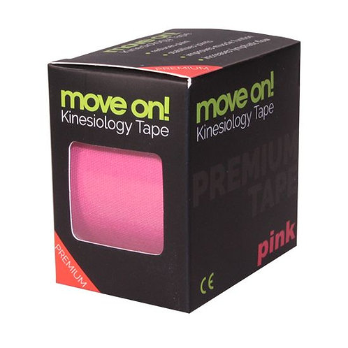 Move on! kinesiology tape - kineziológiai szalag Pink